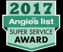 Angie's List Super Service Award Winner 2017